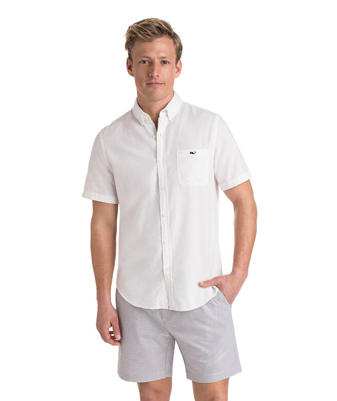 Short-Sleeve Lucayan Classic Tucker Shirt