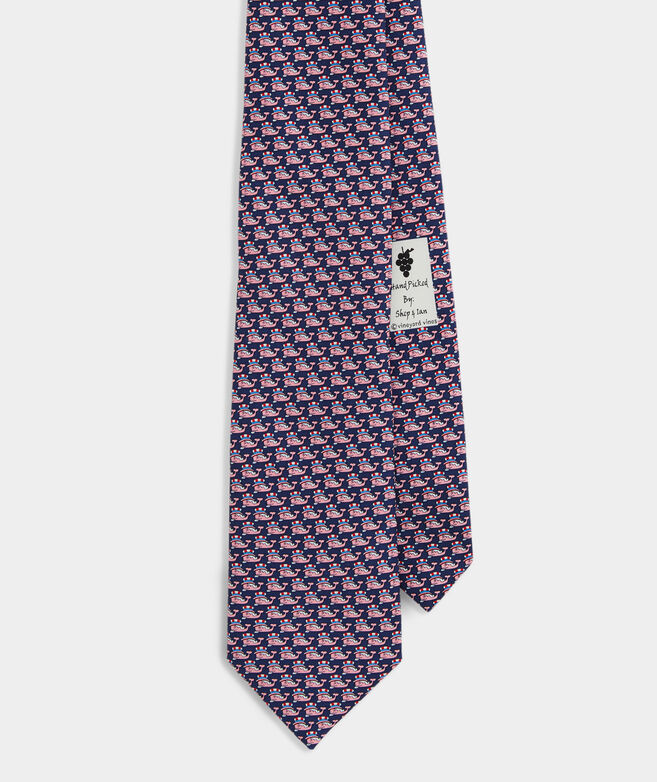 Uncle Sam Whale Tie