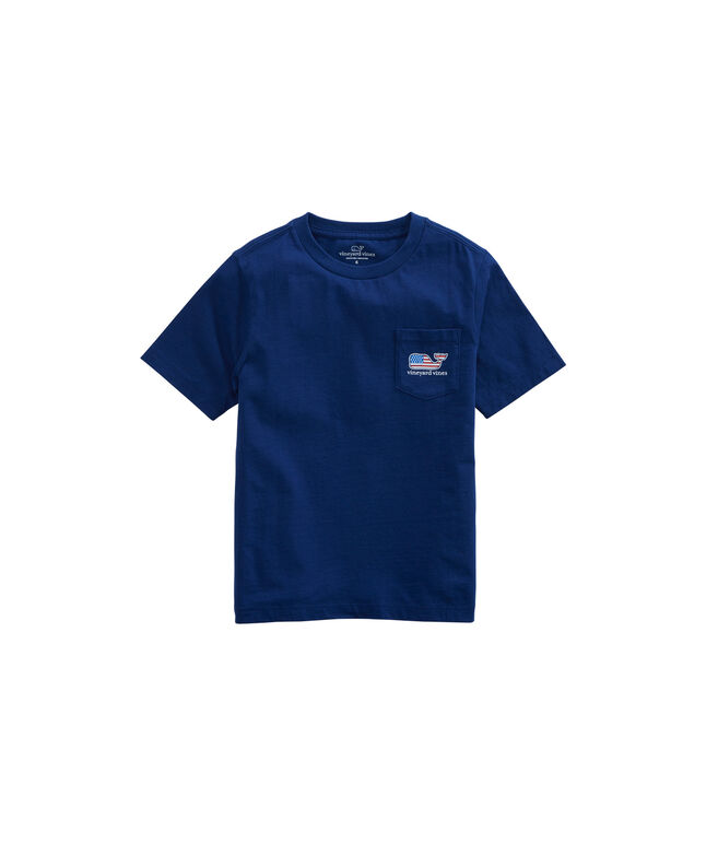 Boys US Tradition Pocket T-Shirt