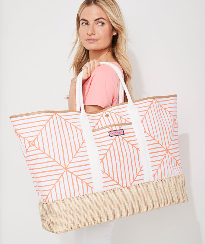Canopy Geo Oversized Tote Bag