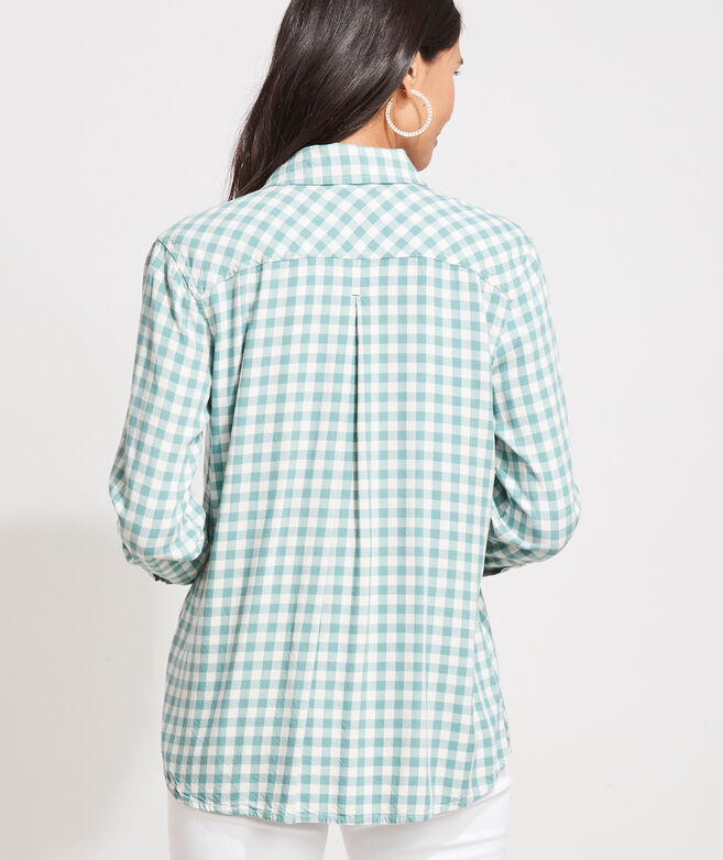 Gingham Chilmark Relaxed Button-Down