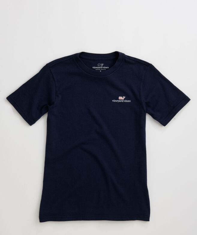 Boys T Shirts Vv Logo Graphic T Shirt Vineyard Vines
