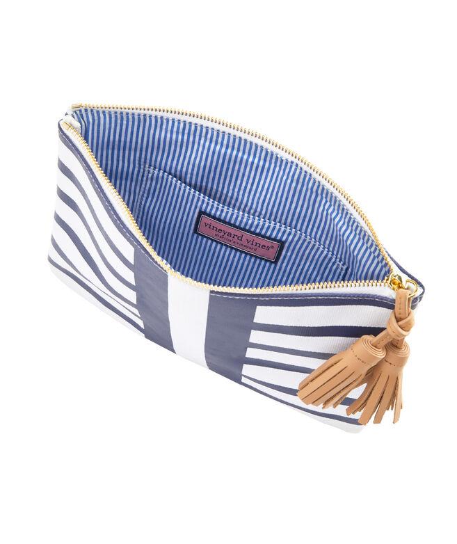 Seaside Stripe Clutch