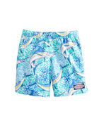 Boys Marlin Coral Chappy Trunks