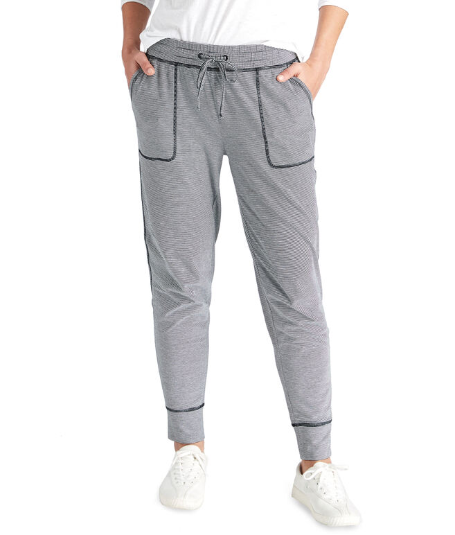 Feeder Stripe Knit Joggers