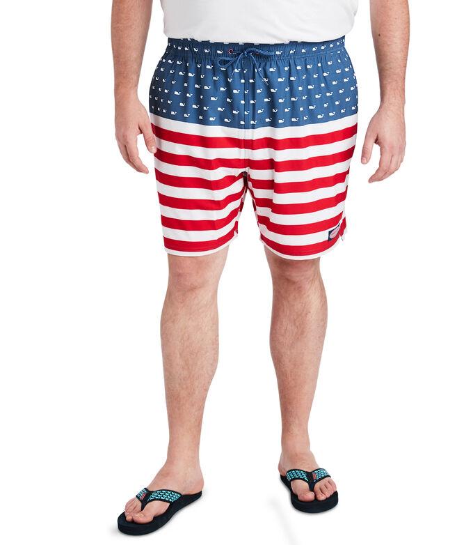 Big & Tall USA Chappy Trunks