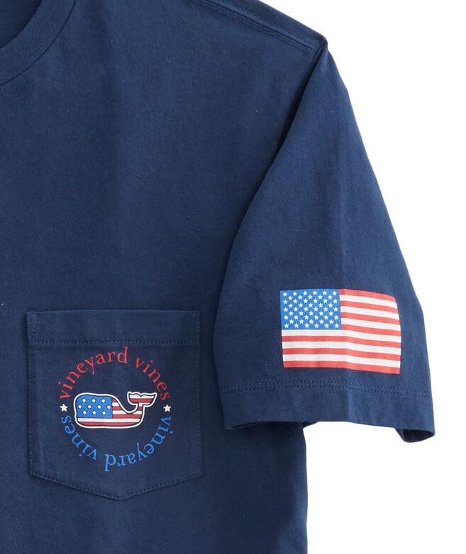 9e167cfb9e54 USA All Day Pocket T-Shirt