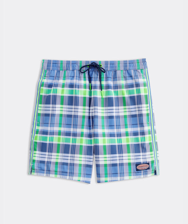 7 Inch Plaid Chappy Trunks