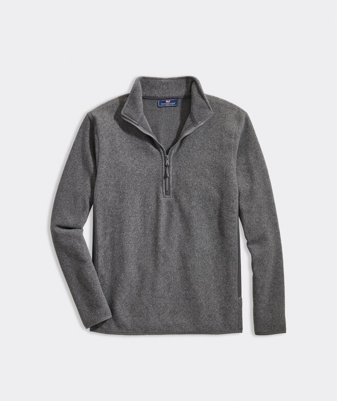 Blank Fleece Harbor 1/4-Zip