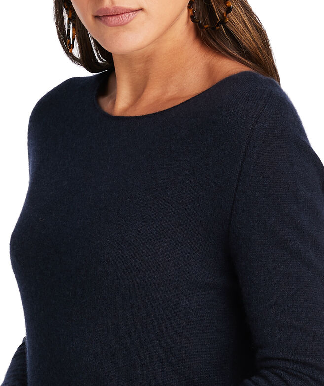 Cashmere Boatneck Sweater