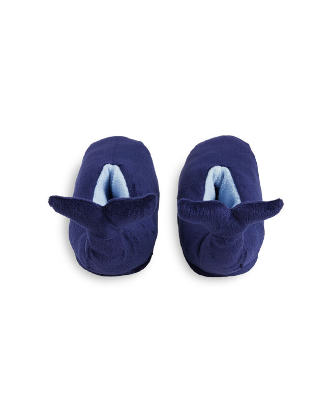 Kids Plush Whale Slippers