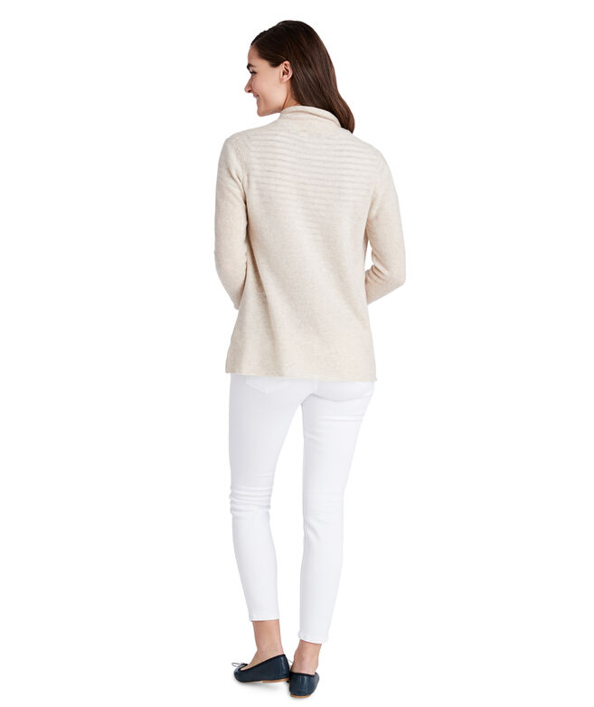 Open Front Cashmere Sweater