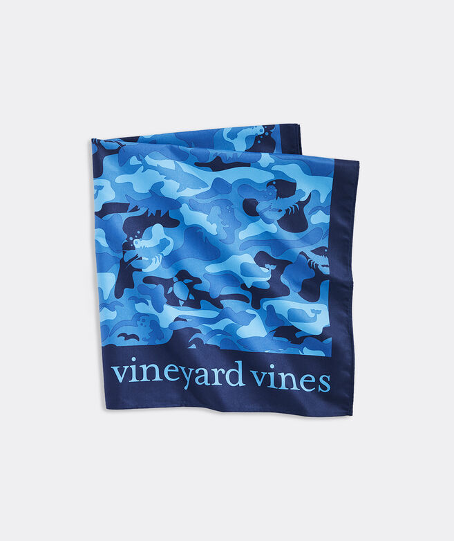 Blue Camo Quick Dry Towel