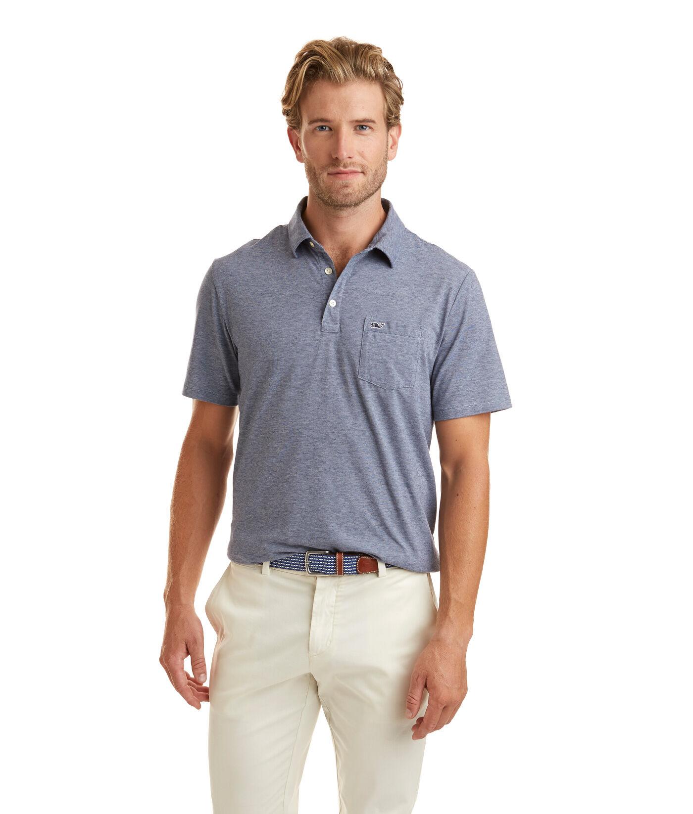 Shirts Vineyard Vines Pink White Striped Short Sleeve Polo Shirt Pocket Mens Sz M Various Styles