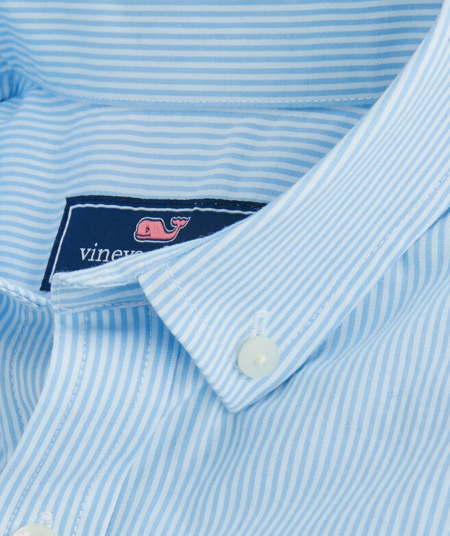 Kids Fine Line Stripe Whale Shirt