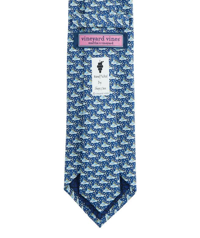 Rooster Fish Printed Tie