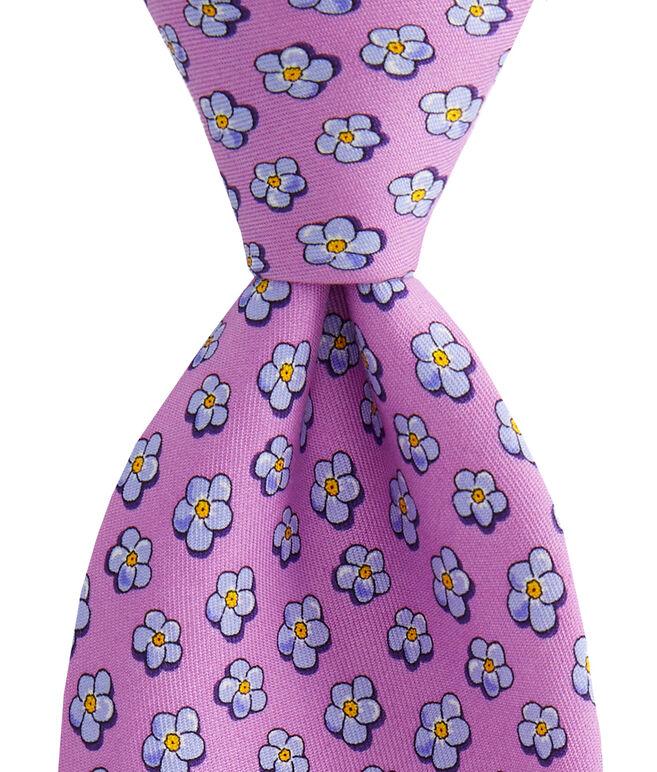 Jim Nantz Forget-Me-Knot Tie