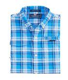Boys Stretch Plaid Harbor Shirt