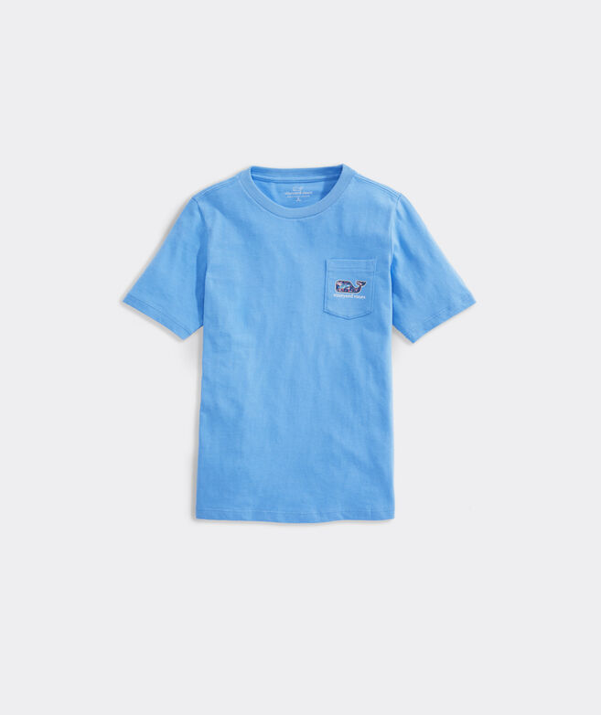 Boys' Trout Whale Fill Short-Sleeve Pocket Tee