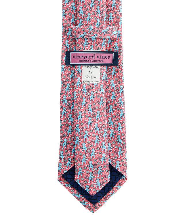 Monkey Fist Printed Tie