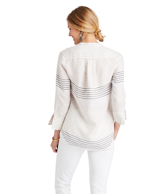 Lurex Stripe Savannah Popover