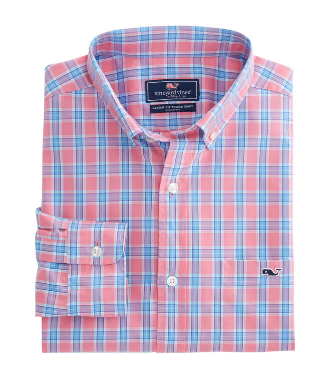 Bayard Plaid Classic Tucker Shirt