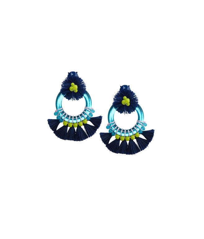 Mirrored Tassel Earrings