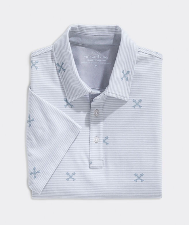 Big & Tall Printed Edgartown Polo