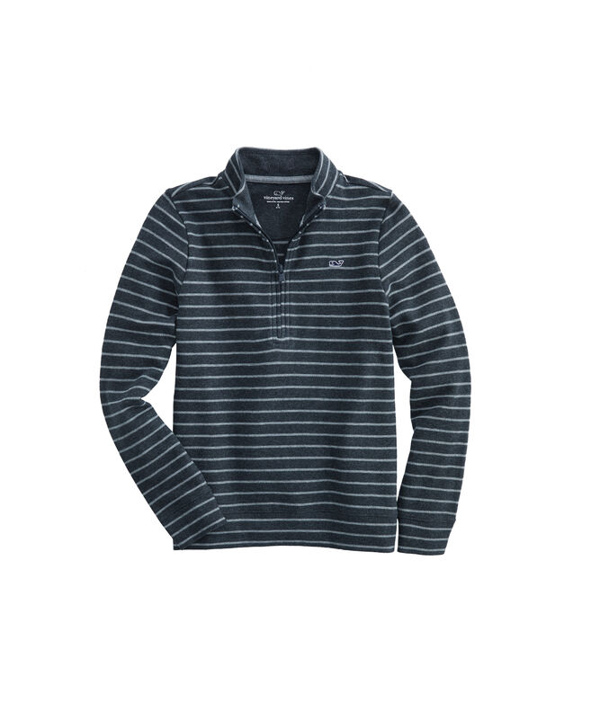 Boys Striped Saltwater 1/2-Zip Pullover