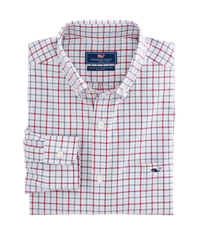 Cocktail Club Check Classic Tucker Shirt