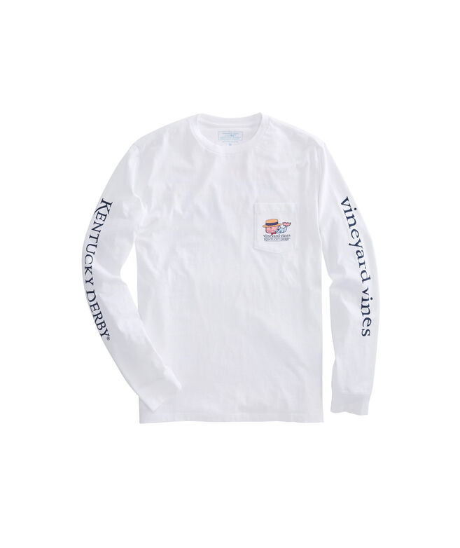 Long-Sleeve Boater Whale Pocket T-Shirt