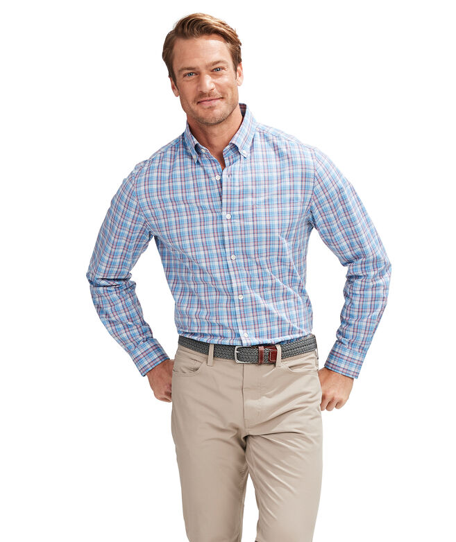 Classic Fit Redfish Cotton Performance Murray Shirt