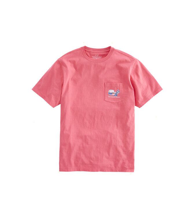 USA Lax Bro Pocket T-Shirt