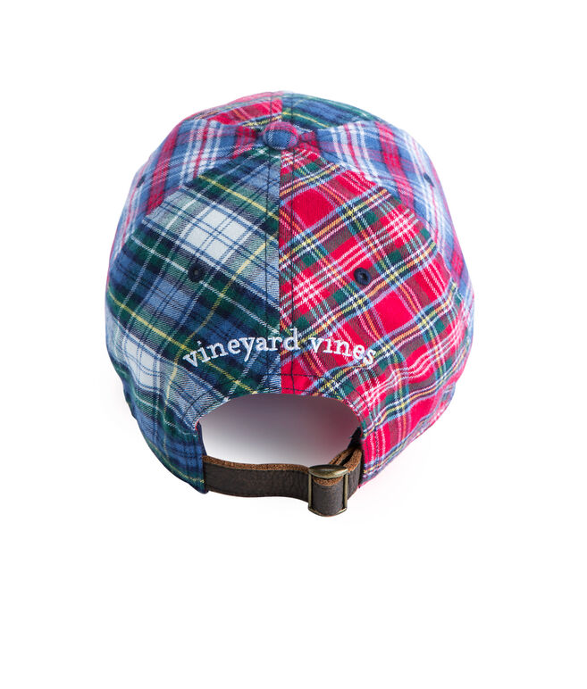Holiday Tartan Party Hat