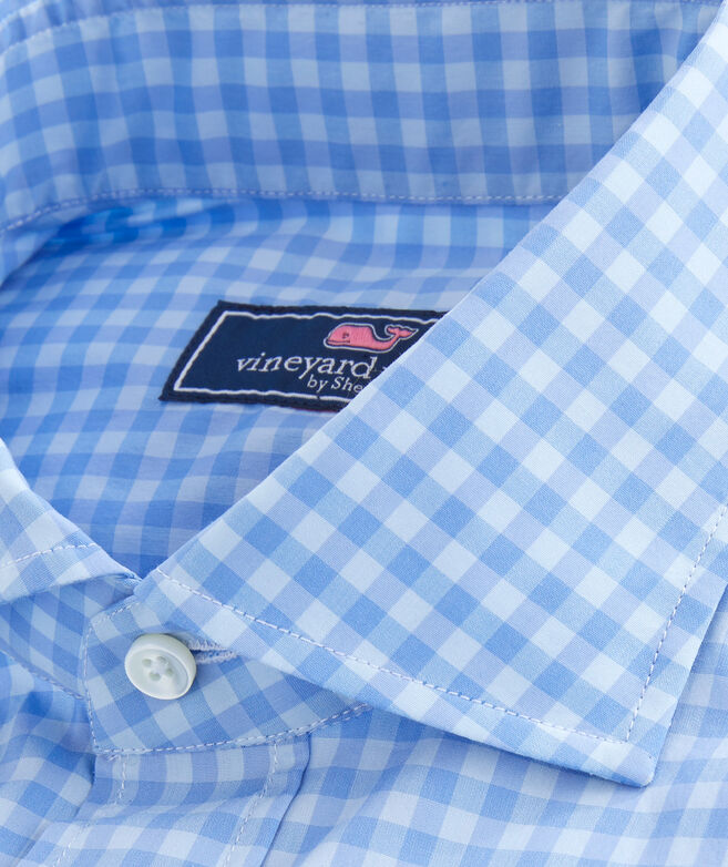 Performance Greenwich Button-Down Dress Shirt