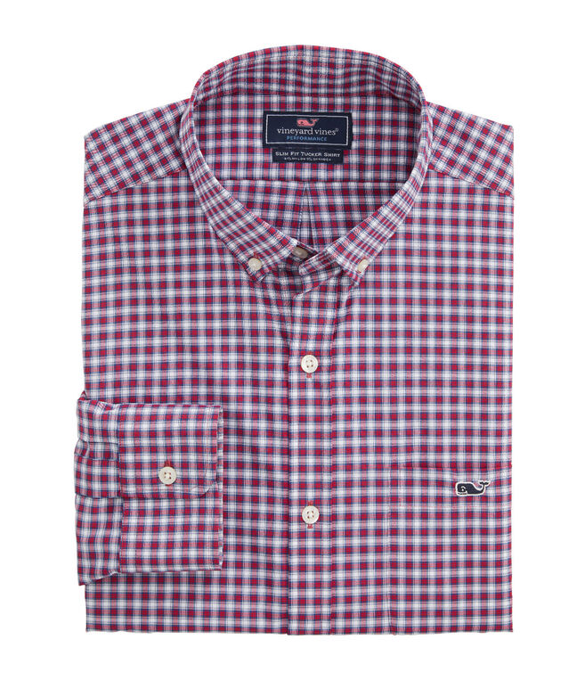 Big & Tall Teton Performance Tucker Button-Down Shirt