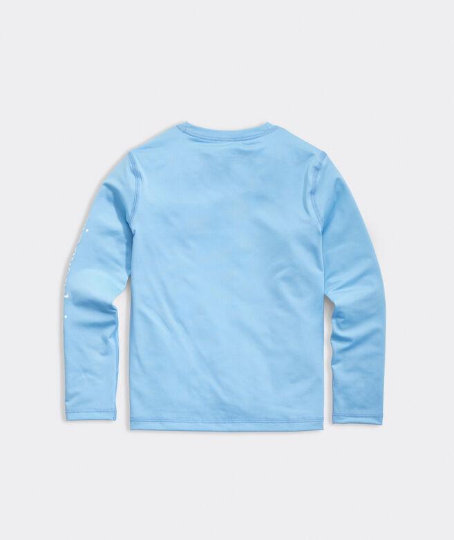Boys' USA Whale Dot Rashguard Swim Shirt