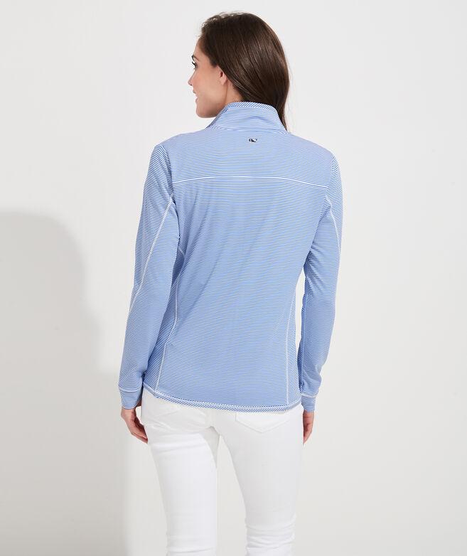 Micro Stripe Lightweight Sankaty Shep Shirt