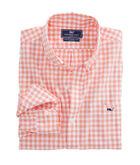 Sea Park Gingham Slim Tucker Shirt