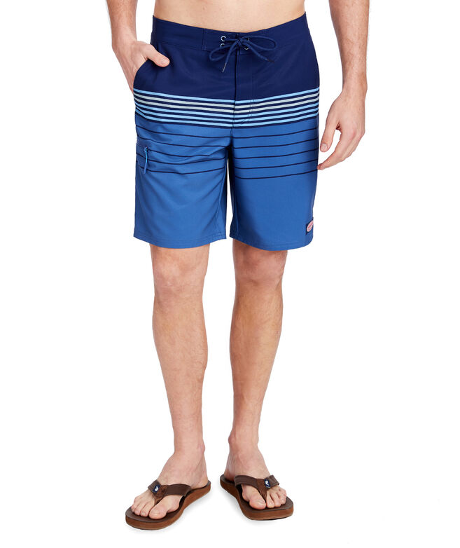 Stripe Stretch Board Shorts