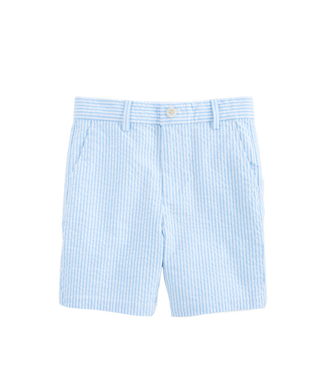 Boys Seersucker Breaker Shorts