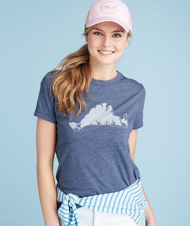 707246441 Ratings. 5. Rated 5 out of 5 stars. 3 Reviews. Jump to Reviews. Write a  Review. Martha's Vineyard Island Graphic Tee