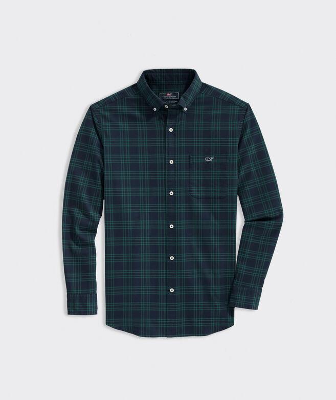 Classic Fit Twill Tucker Shirt