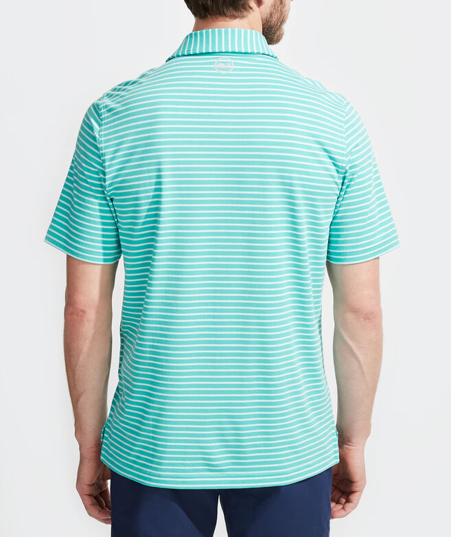 Carmel Cypress Stripe Polo