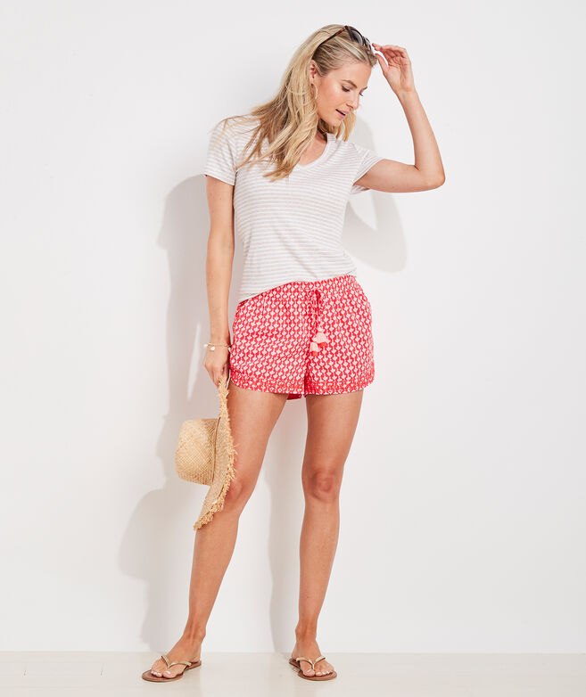 Tile Pull-On Shorts