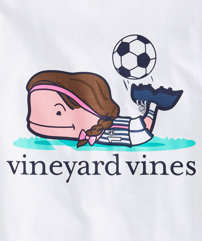 Girls' Soccer Short-Sleeve Tee