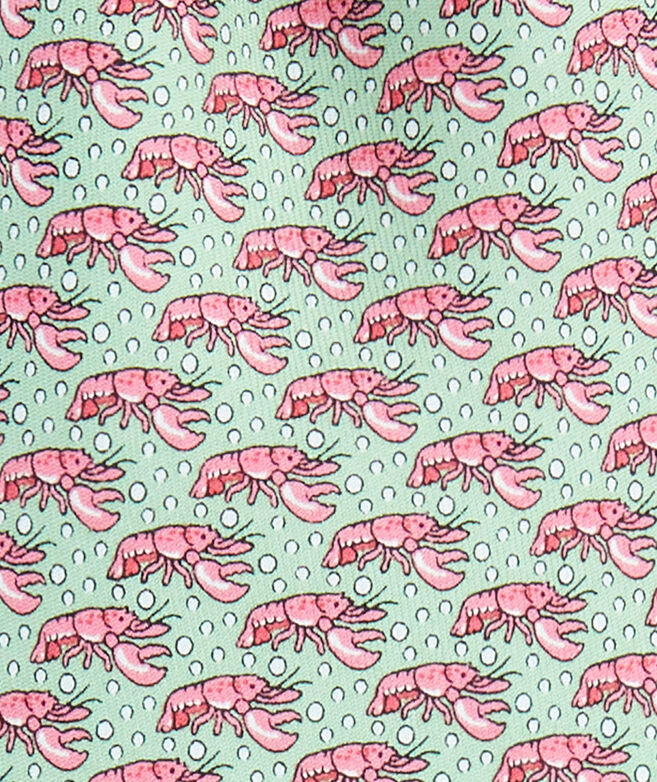 Lobster Pot Printed Tie