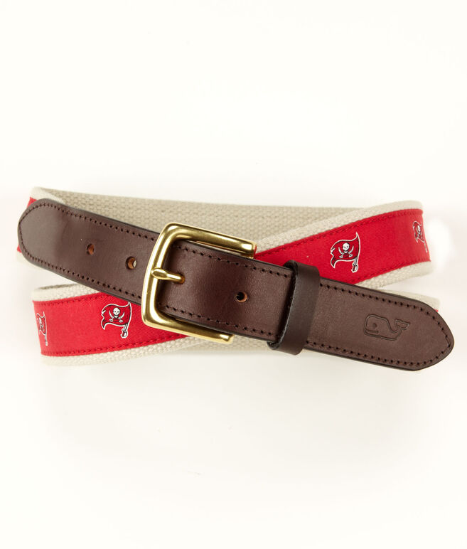 Tampa Bay Buccaneers Canvas Club Belt