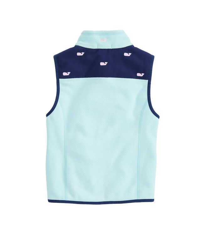 Girls Embroidered Shep Vest