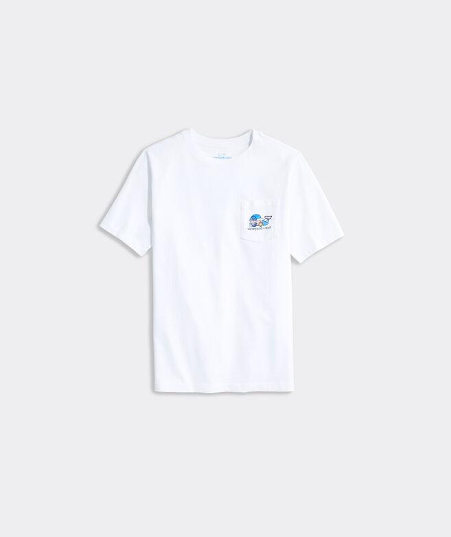 Boys' Catcher Whale Short-Sleeve Pocket Tee